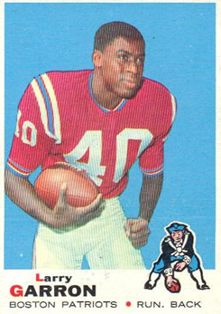Larry Garron football card