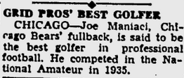 Maniaci in '35 Amateur