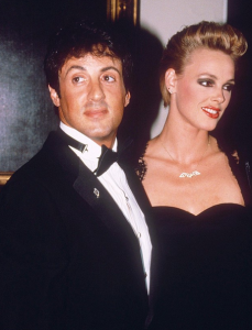 Stallone and Nielsen