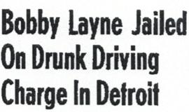 DUI head in Detroit 1957