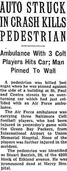 Original story of Colts accident