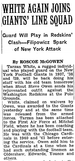Oct. 27, 1945 New York Times
