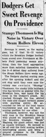 Brooklyn Eagle 1 T-Day 1930