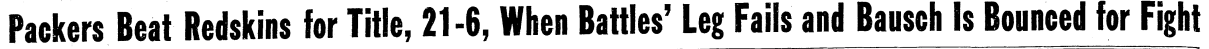 Globe 1936 headline