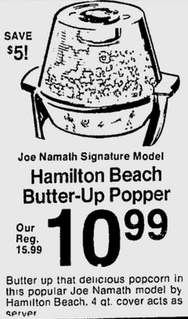 Namath popper