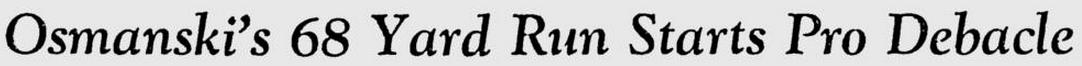 Osmanski headline