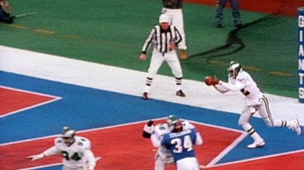 Photo of Cunningham's punt