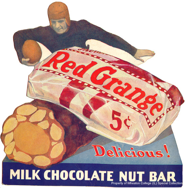 Red Grange candy bar