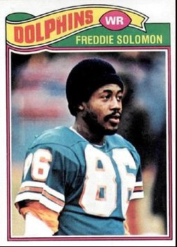 Solomon football card