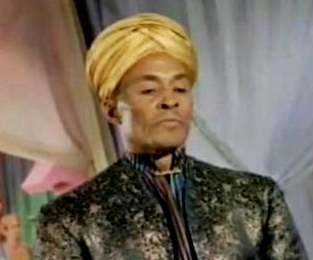 "Woody Strode as the Grand Mogul in the ""Batman"" TV series (1966)."