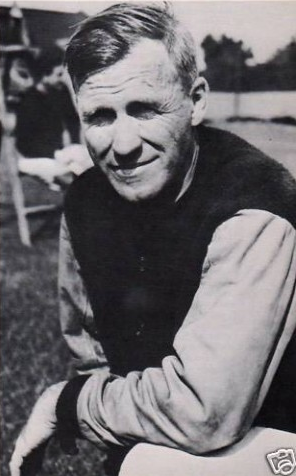 Clark Shaughnessy, one of the fathers of the T formation.