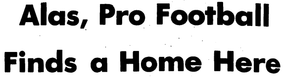 Globe Alas headline 1964