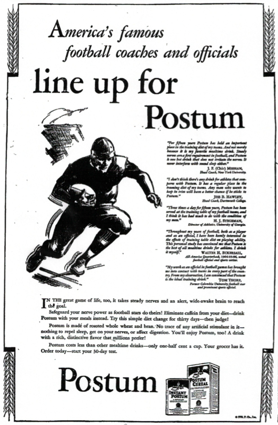 Postum ad in 11-21-28 Post-Crescent