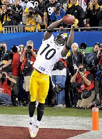 There would have been a lot more pressure on Santonio Holmes in the '20s.
