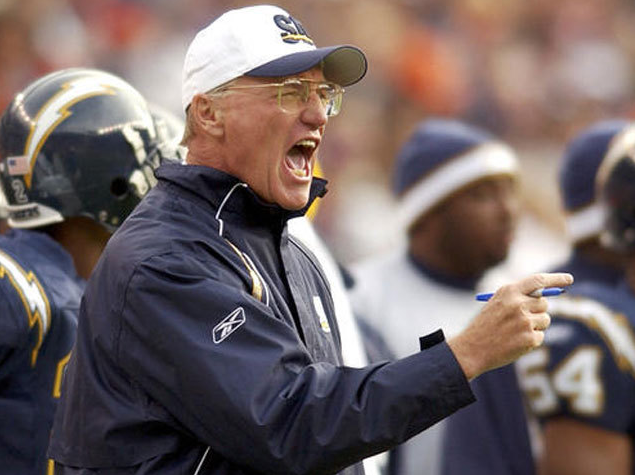 Marty Schottenheimer during his Chargers days.