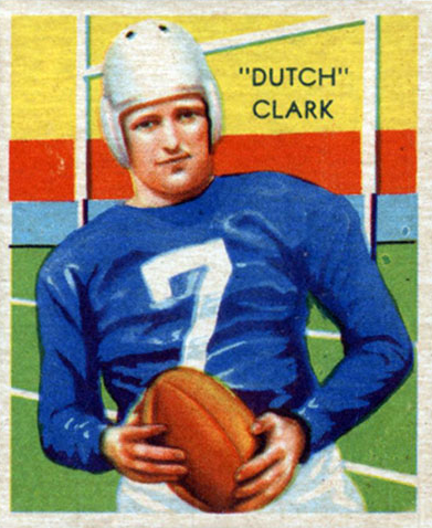 Dutch Clark card
