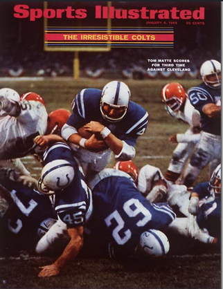 Si S Cover The Week Of Super Bowl Iii Pro Football Daly
