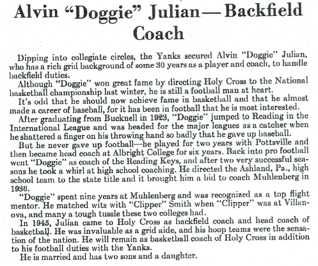 Doggie Julian media guide page