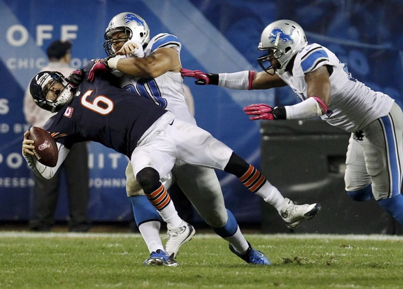 The Dolphins are betting $114 million that  Ndamukong Suh will keep doing this to quarterbacks.