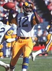 James Harris during his Rams days.