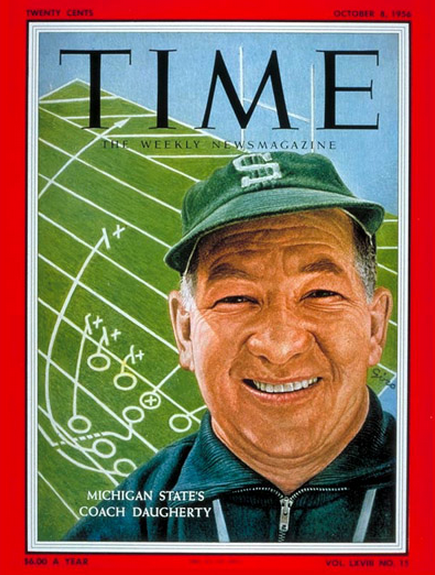 Daugherty on Time cover