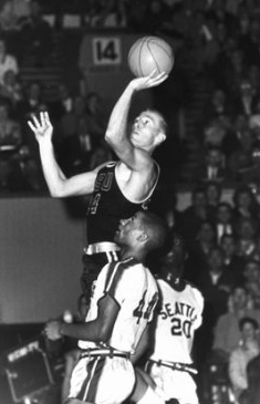 Terry Baker in action for Oregon State.
