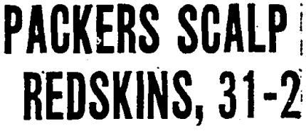 A headline in the Oct. 12, 1936 Boston Globe.