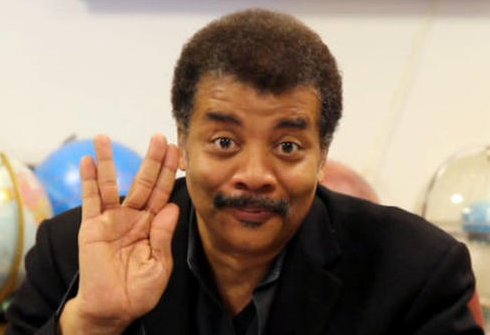 Neil DeGrasse Tyson, honorary Vulcan.