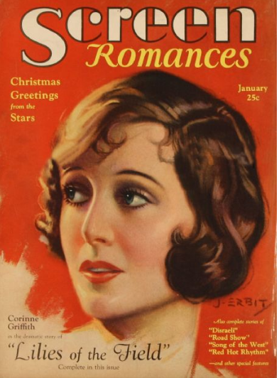 Silent screen star Corinne Griffith