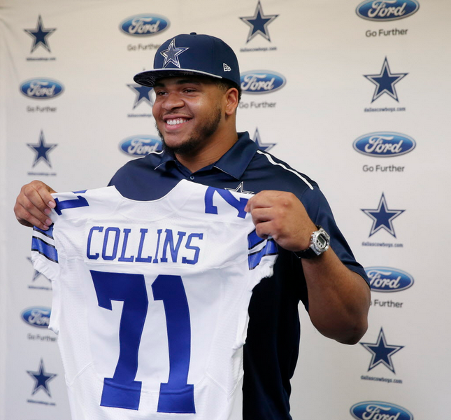Will the addition of guard La'el Collins take the Cowboys' O-line from very good to great?