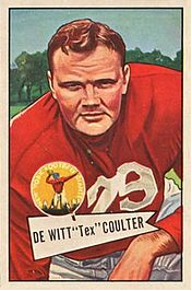Coulter 1952 card