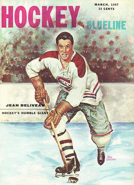 Coulter Beliveau cover March 1957