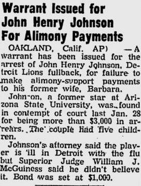 JH Johnson alimony 3-10-60