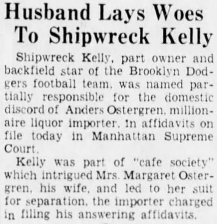 Shipwreck Kelly 1-18-38 Eagle