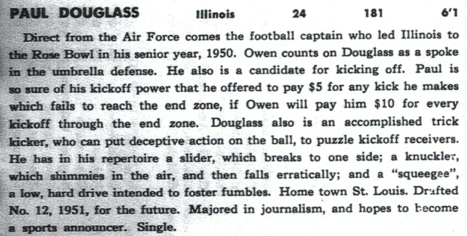 From the Giants' 1953 media guide.