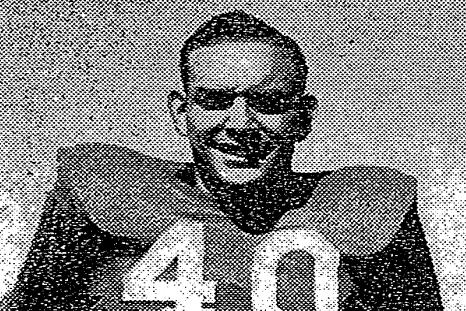 Paul Douglass during his brief NFL trial.